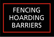 fencing, hoarding, barriers
